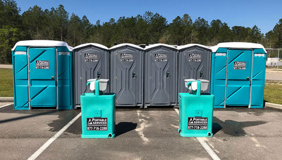 Portable Services - Toilet and Restroom Trailer Rental