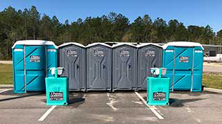 Handi-Cap Restrooms rental in Gulfport MS and surrounding cities.