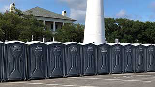 Portable restroom rental in New Orleans, LA